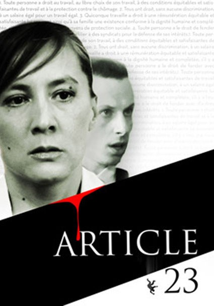 "Le film ""Article 23"", projeté à Caen."